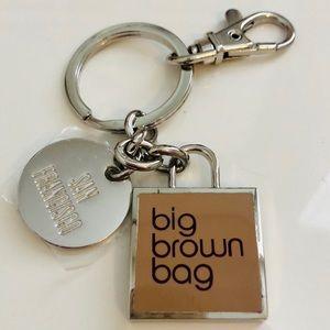 NEW Bloomingdale's San Francisco Keychain Key Ring